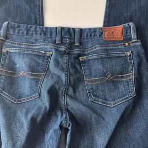Lucky Sweet Straight Ankle Jeans 10/30